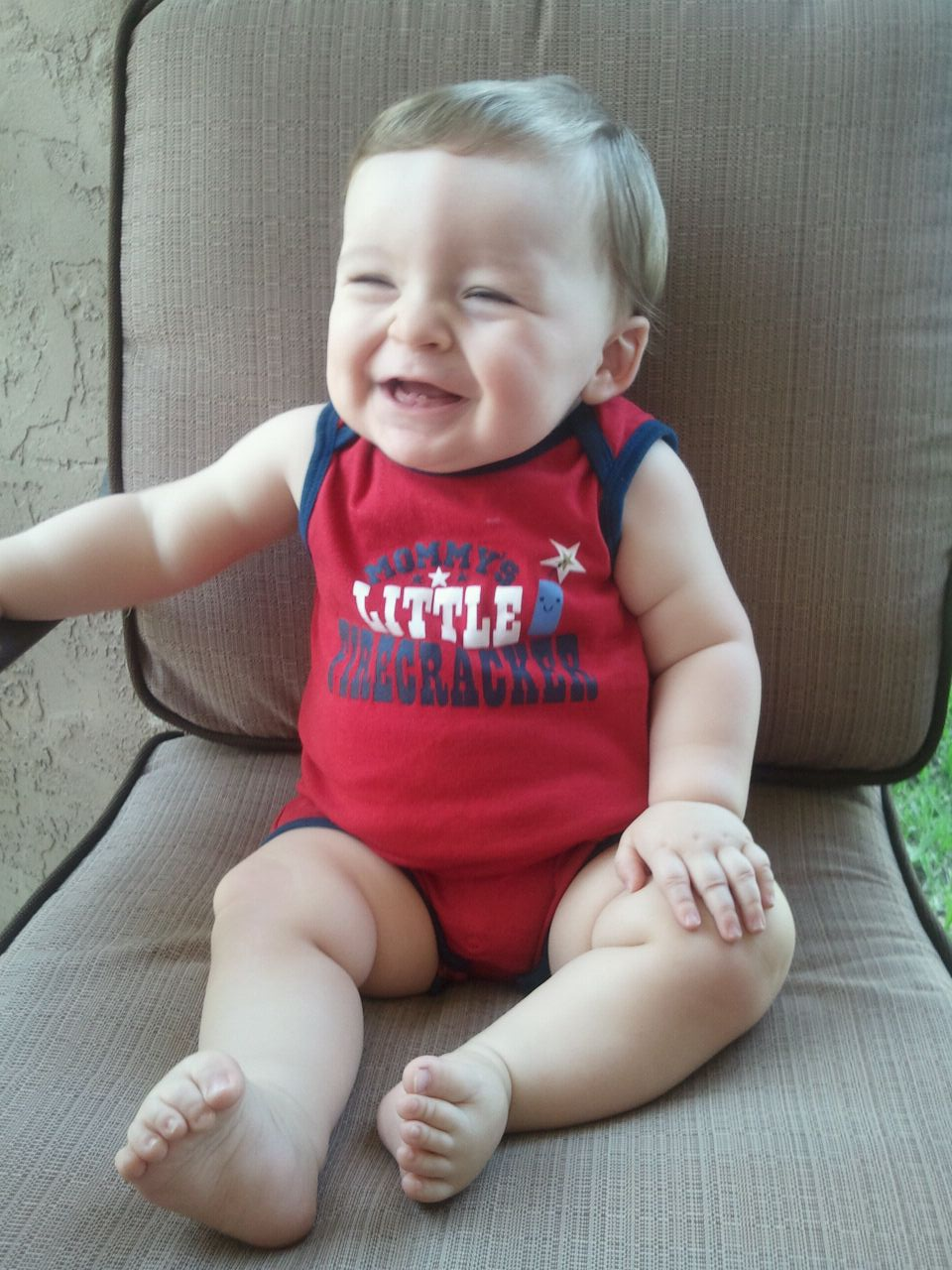 7.04.2012 ~ 1st 4th of July ~ Mommy's Little Firecracker!