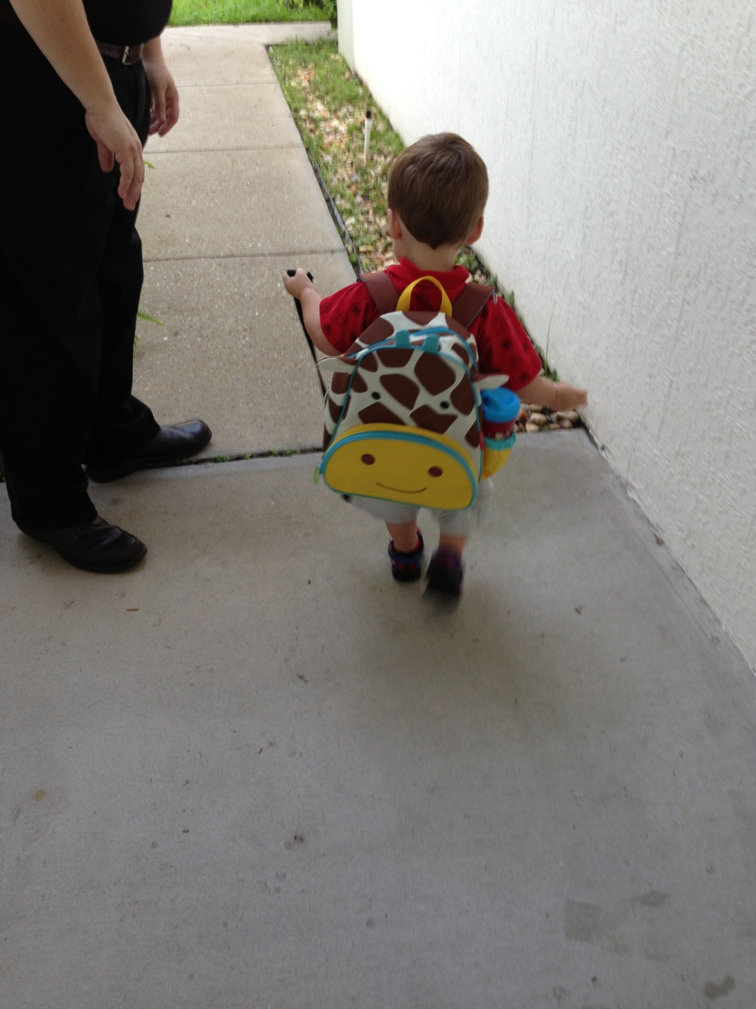 2013-07-29_1st day with backpack_2