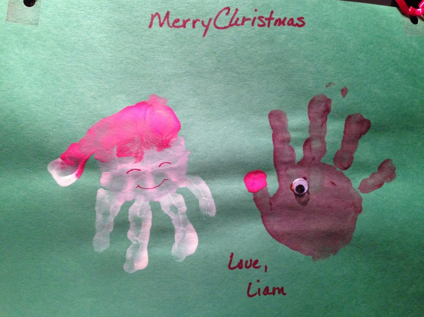 2013-12-20_Liam Christmas Project