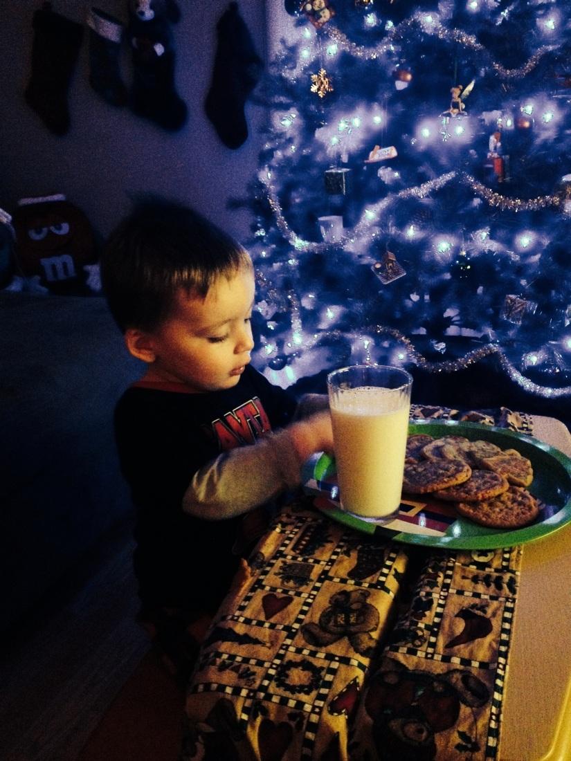 2013-12-24_Santas Cookies and Milk 001