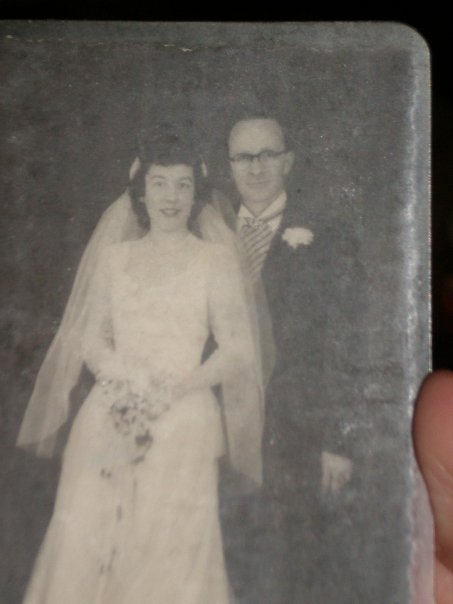 Grammy and Grampy Wedding Pic