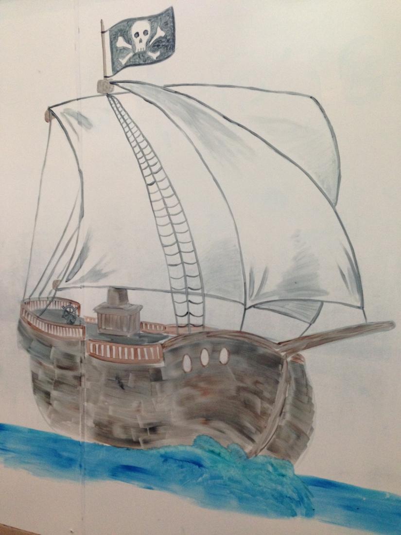 2014-09-20_OSC_Pirate Ship Mural