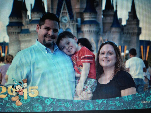 2015-01-03_Magic Kingdom_Castle Family Pic1