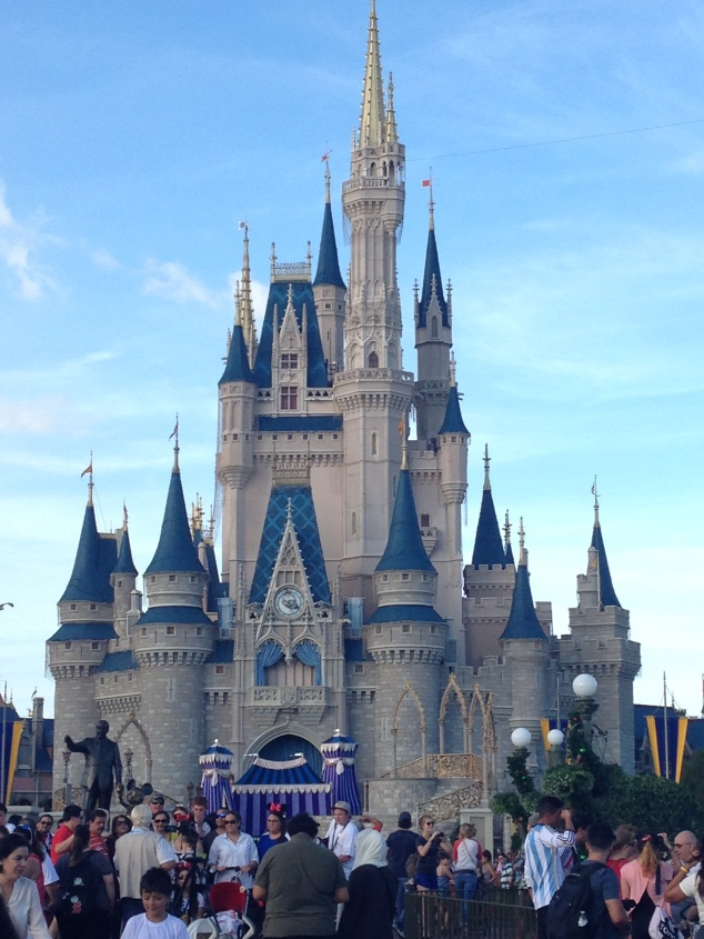 2015-01-03_Magic Kingdom_Castle