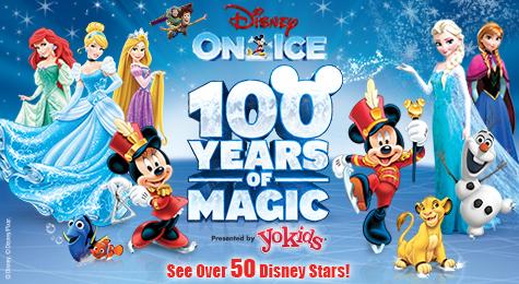 Disney on Ice celebrates 100 Years of Magic Blended Art