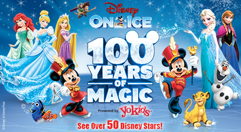 Disney on Ice celebrates 100 Years of Magic Blended Art