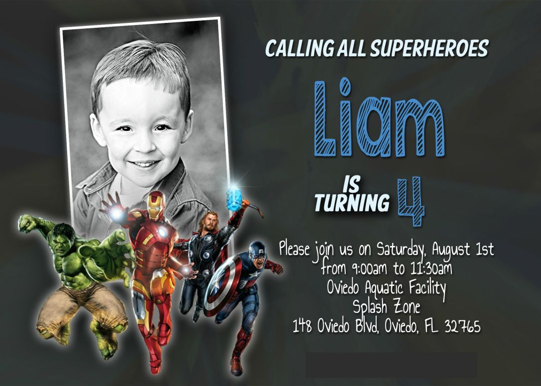 Bday Party Invite