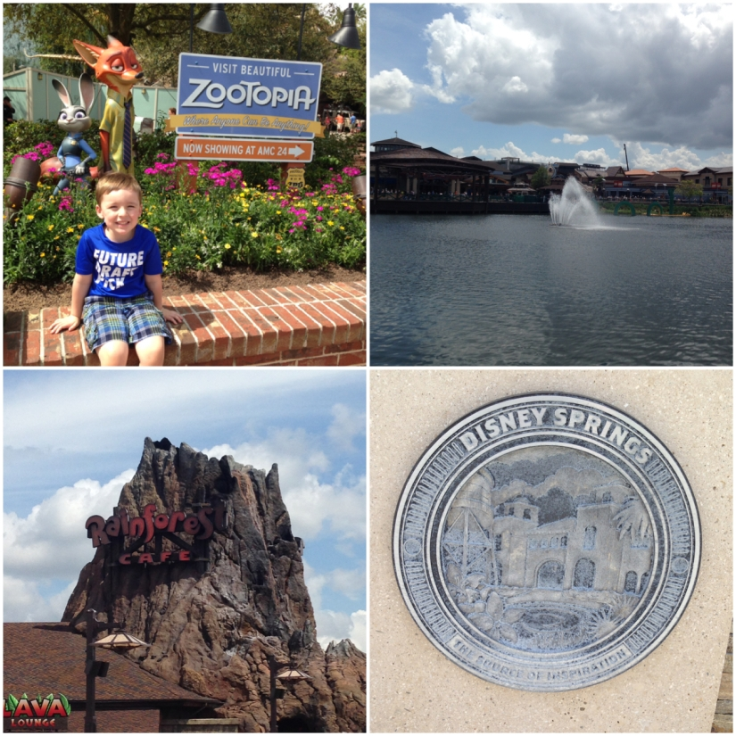 2016-03-30_Disney Springs Collage