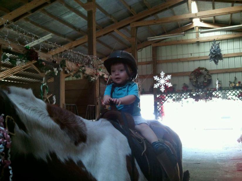 2013-01-13_1st ride_5_Kira the Horse